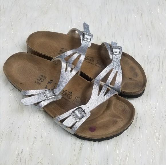 a43d507b0f4947 Birkenstock Shoes - Birki s Birkenstocks Silver Rhinestone Sandals